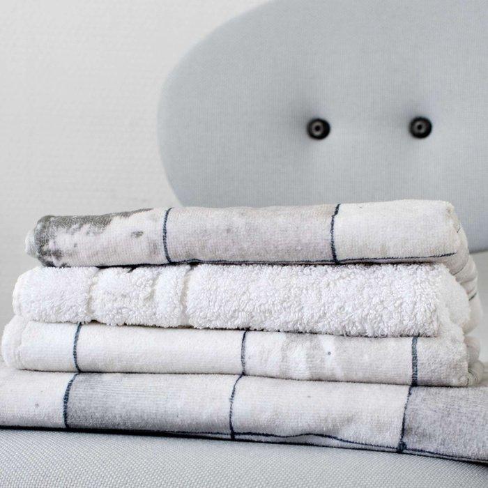 Комплект постельного белья Плитка жемчужно-белого цвета 150x200