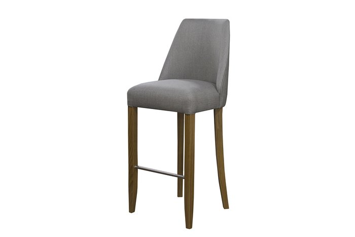 Барный стул Mataro серого цвета