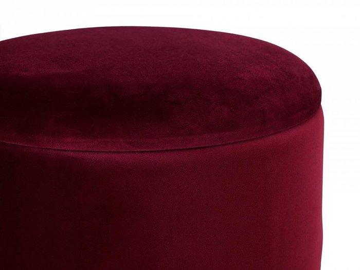 Пуфик Self бордового цвета