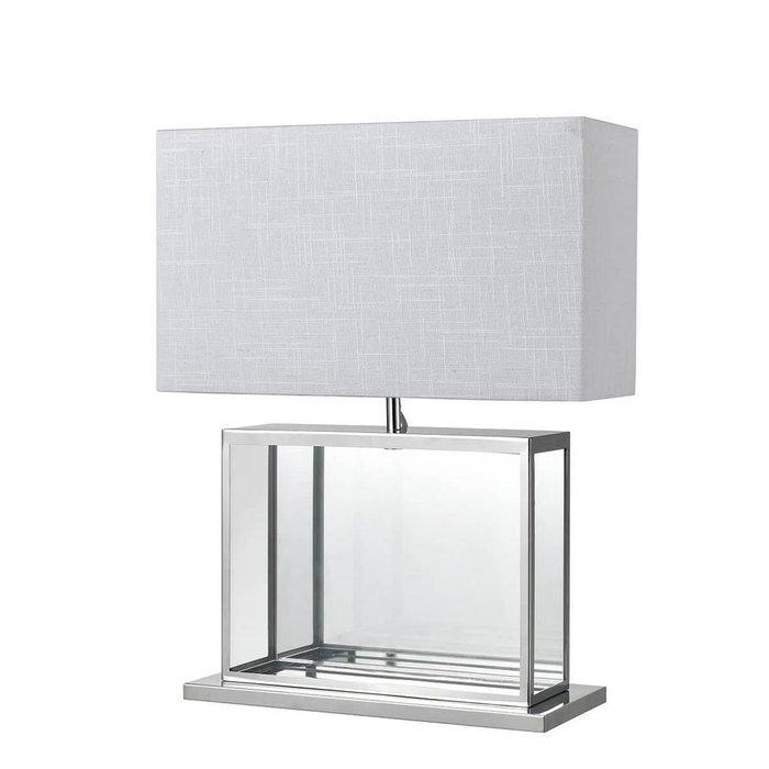 Настольная лампа Vicenza с белым абажуром
