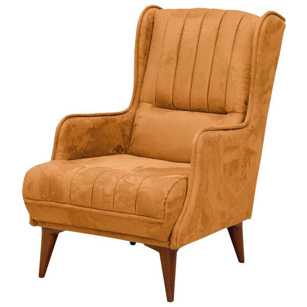 Кресло Болеро оранжевого цвета