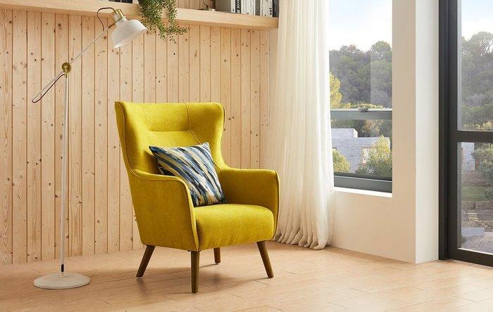 Кресло Camilla желтого цвета
