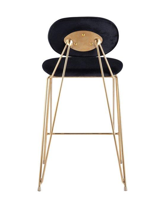 Барный стул Элис темно-синего цвета
