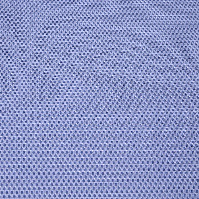 Кресло поворотное Indigo бело-синего цвета