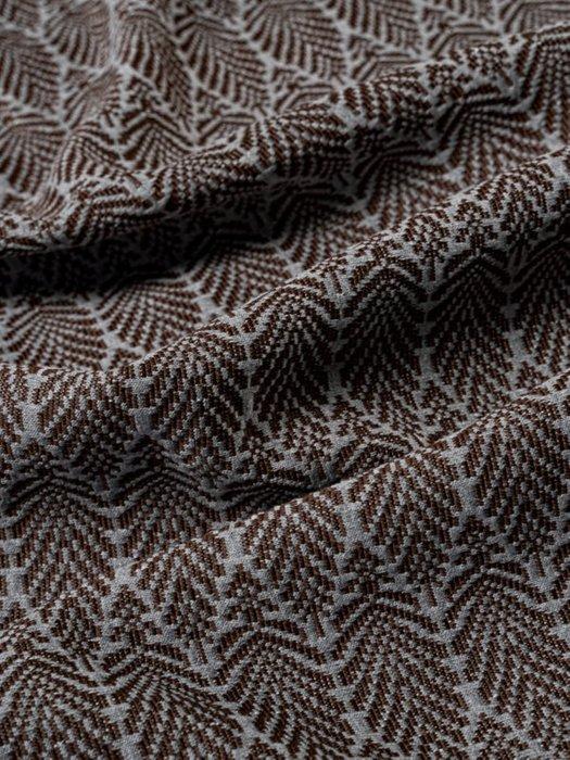 Набор из двух наволочек Ponza brown коричневого цвета