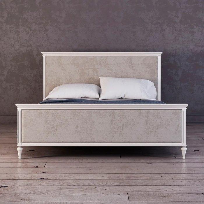 Кровать Riverdi с мягким изголовьем 160х200