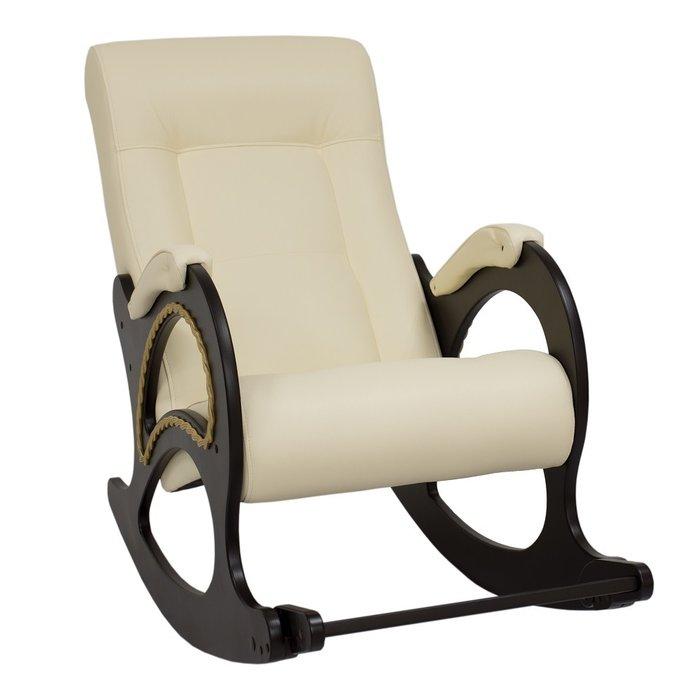 Кресло-качалка  Модель 44  венге/ Dundi 112