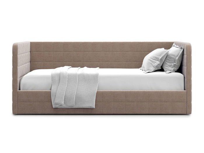 Кровать с подъемным механизмом Brenta 120х200 темно-бежевого цвета