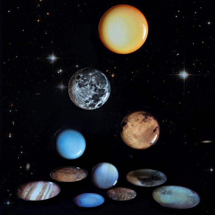 Тарелка Seletti Cosmic Dinner Plate Neptun