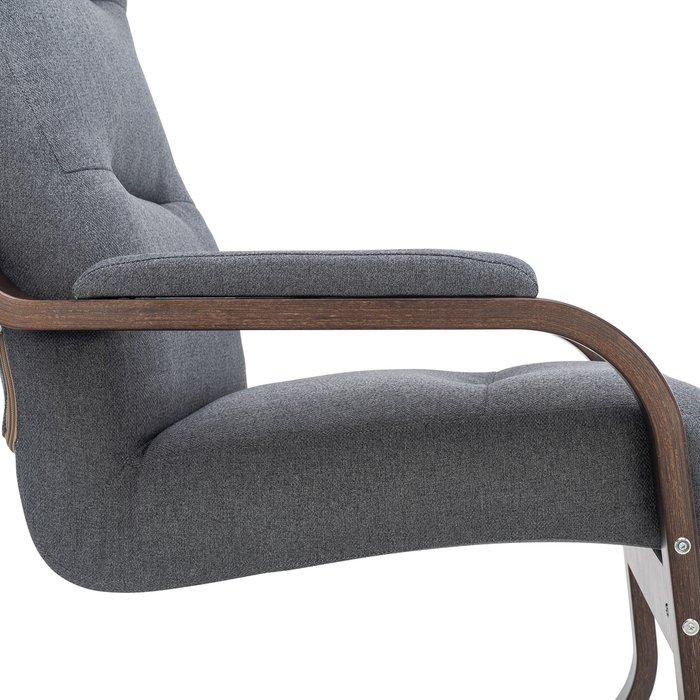 Кресло Оскар серого цвета