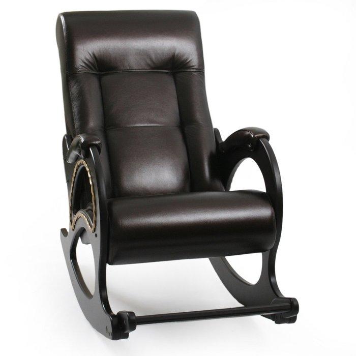 Кресло-качалка Модель 44 черного цвета