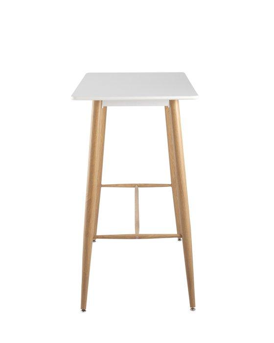 Стол барный с белой столешницей