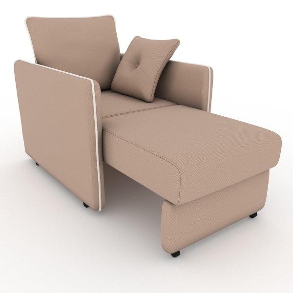 Кресло-кровать Cardinal темно-бежевого цвета