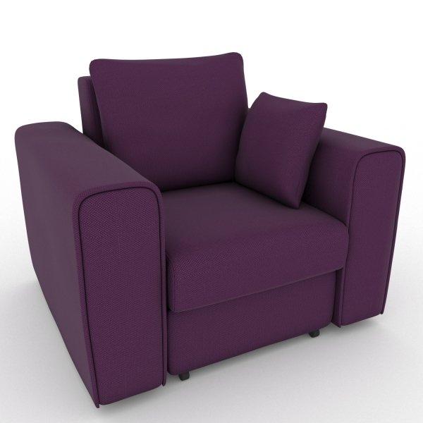 Кресло-кровать Giverny фиолетового цвета