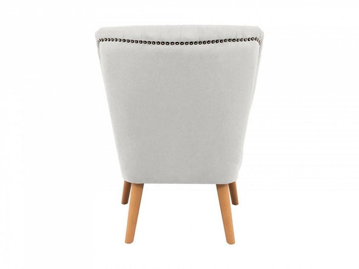 Кресло Barbara светло-серого цвета