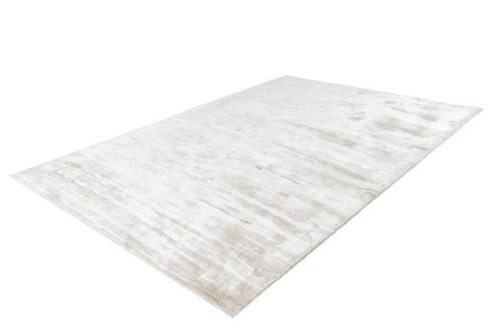 Однотонный ковер Bamboo кремового цвета 120х170