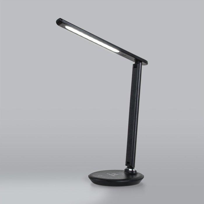 Настольный светодиодный светильник Brava черного цвета