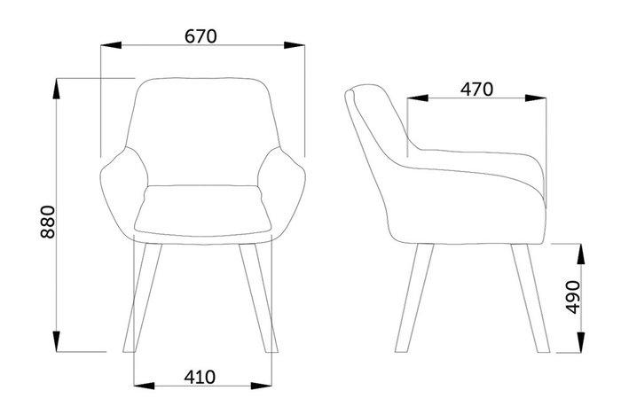 Кресло Soft красного цвета
