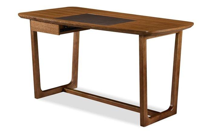 Стол письменный Leonard коричневого цвета