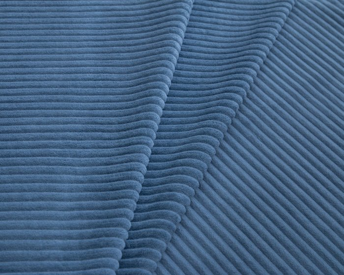 Покрывало Duo Cilium Blue 230x240 синего цвета