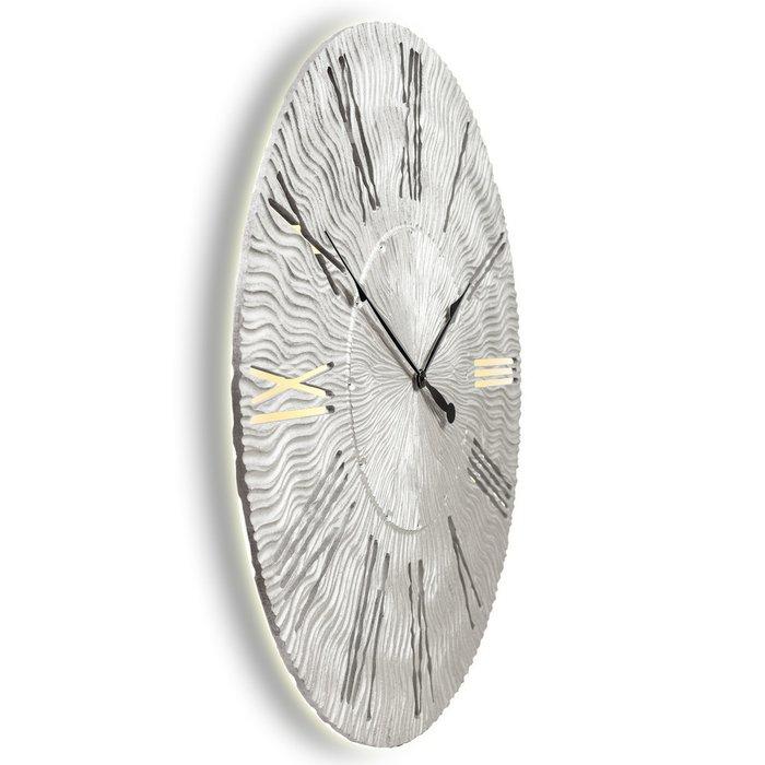 Настенные часы TWINKLE silver