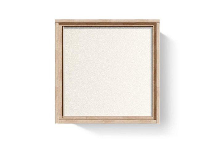 Модуль настенный Manhattan со стеклом бело-бежевого цвета (правый)