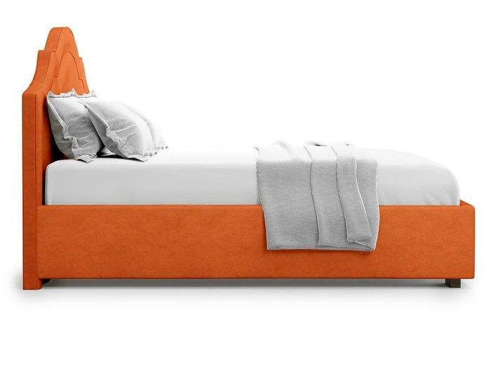 Кровать с подъемным механизмом Madzore 140х200 оранжевого цвета