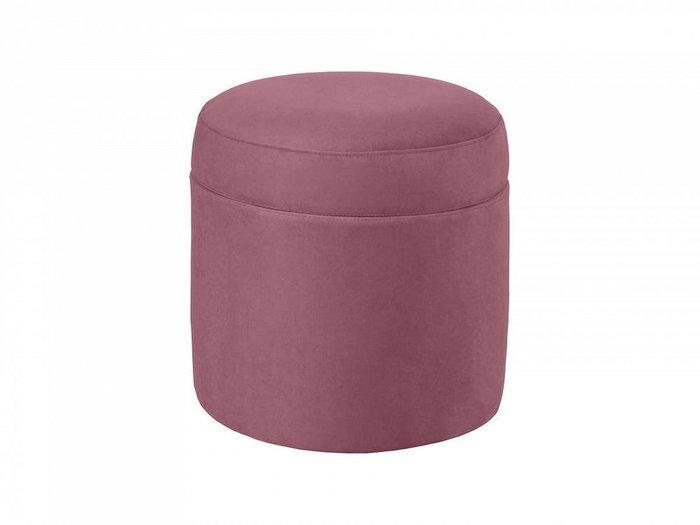 Пуф Barrel кораллового цвета