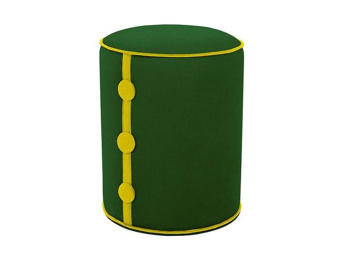 Пуф Drum Button с каркасом  из деревянного бруса и фанеры