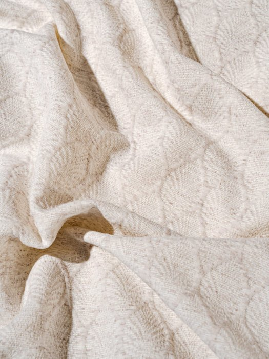 Набор из двух наволочек Ponza white белого цвета