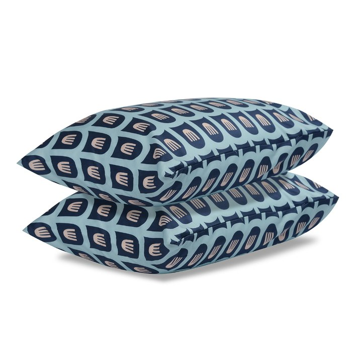 Двусторонний комплект постельного белья из сатина с принтом blossom time 150х200