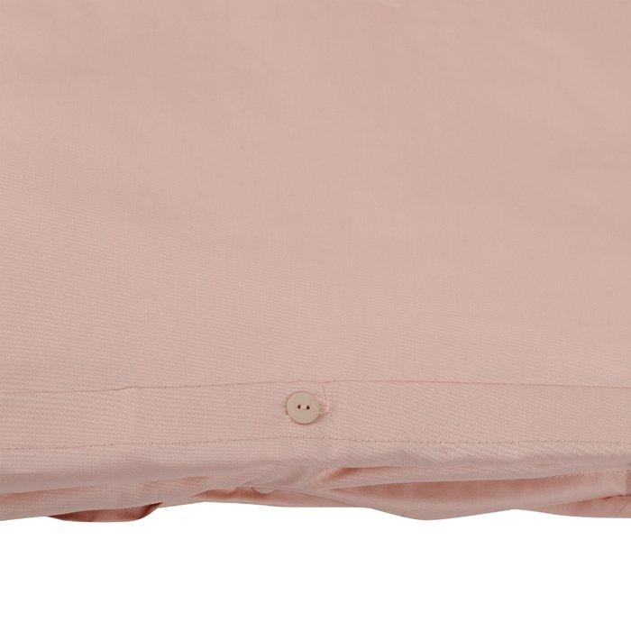 Комплект постельного белья Essential из сатина цвета пыльной розы 150х200