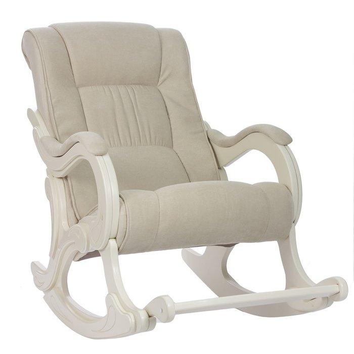 Кресло-качалка Модель 77 с отделкой Verona Vanilla