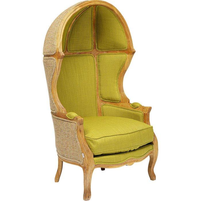 Кресло Roof зеленого цвета