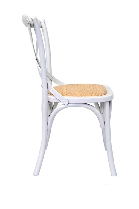 Венский стул Cross Back White