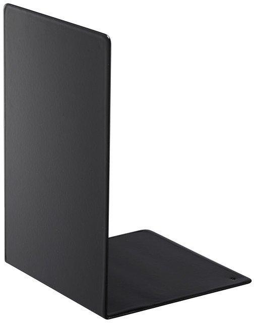 Набор из двух держателей для книг Tower черного цвета