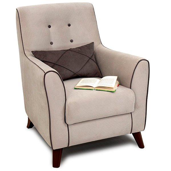 Кресло Френсис бежевого цвета