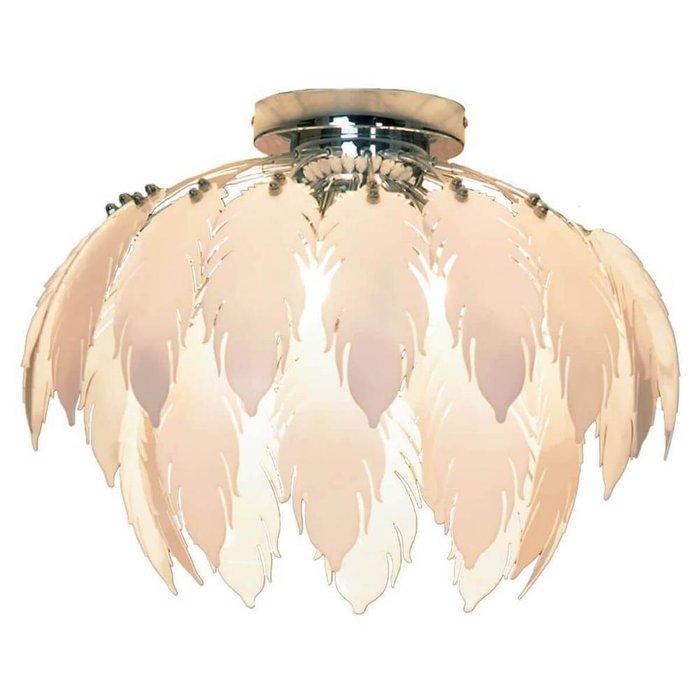 Потолочная люстра Lussole Vercelli с декоративным плафоном
