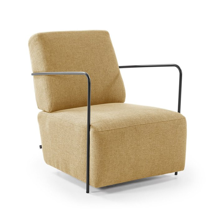 Кресло Gamer горчичного цвета
