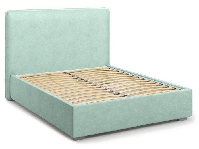 Кровать Brachano 160х200 мятного цвета