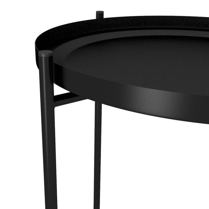 Кофейный столик черного цвета