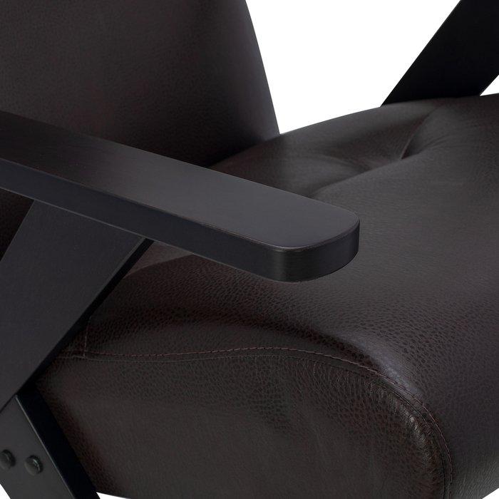 Кресло Tinto релакс коричневого цвета