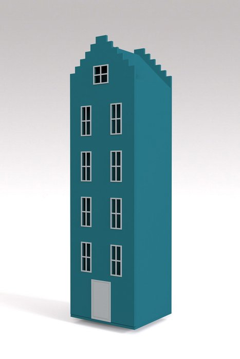 Шкаф-домик Брюгге Maxi цвета мурена