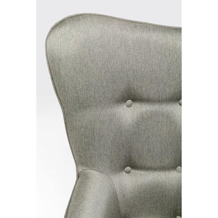 Кресло Vicky серого цвета