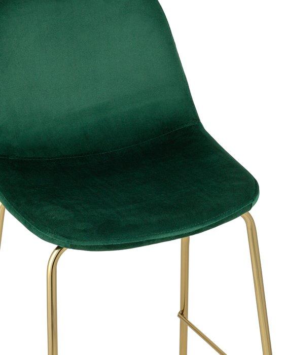Стул полубарный Валенсия зеленого цвета