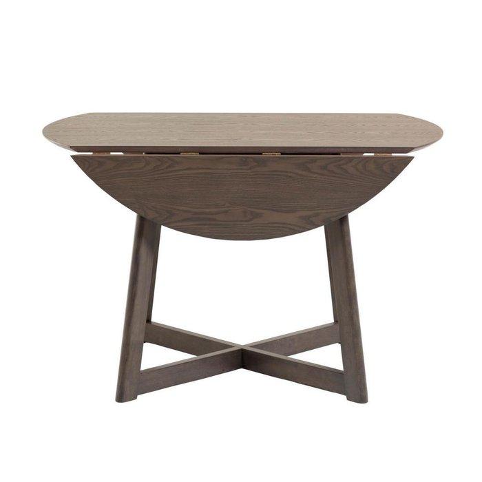 Стол раскладной круглый Maryse цвета орех