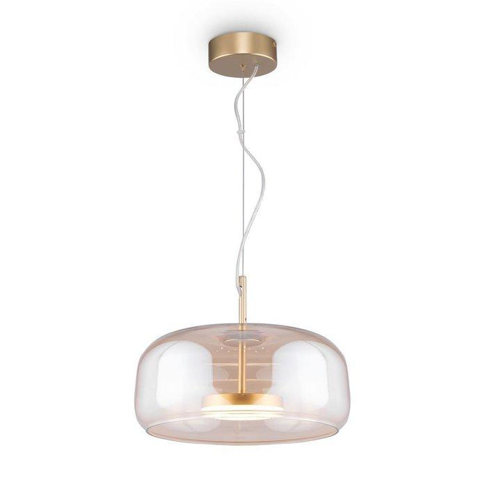 Подвесной светильник Madmen L янтарного цвета