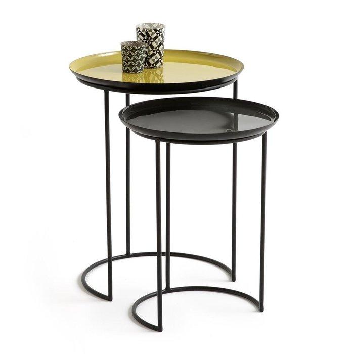 Комплект из двух столиков Tivara из стали