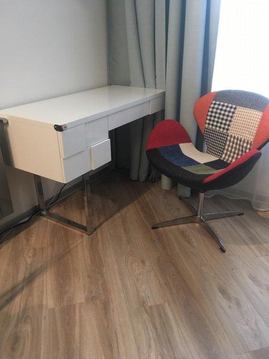 Стол письменный Brooklyn белого цвета