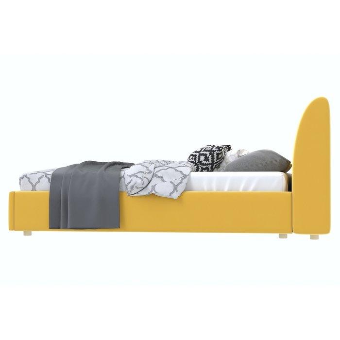 Кровать Бекка 120x200 желтого цвета